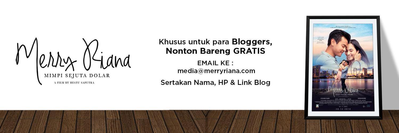 Blogger bisa nonton film gratis – Afriq Yasin Ramadhan